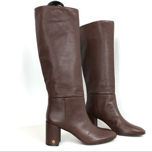 Tory Burch Made in Brazil Cognac Boots Size 9.5